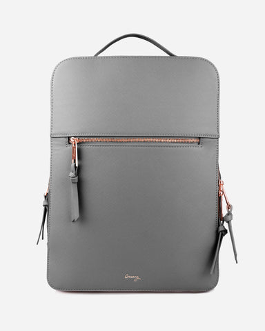London Travel Backpack Gray Designer Case