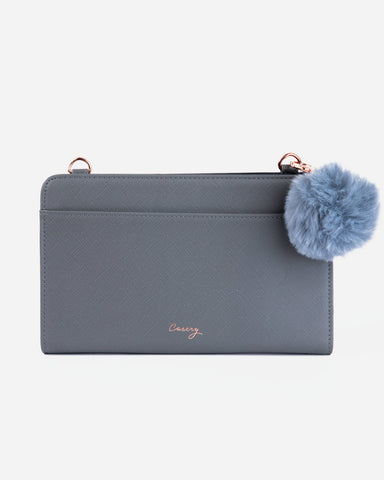 Milan Wallet Gray Designer Case