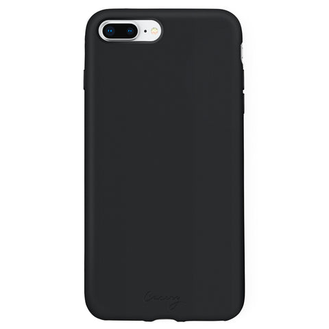 Black Silicone iPhone 8/7/6/6s Plus Designer Case