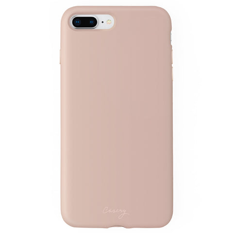 Pink Silicone iPhone 8/7/6/6s Plus Designer Case