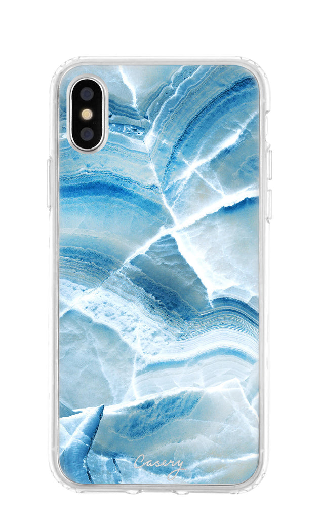 Aqua Marble Clear Case Iphone Xs Max Casery