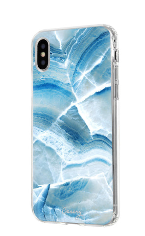 Aqua Marble iPhone X/Xs Designer Case Side View