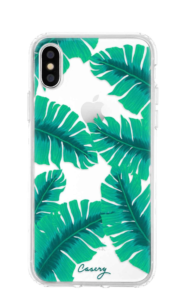 Banana Leaves iPhone XS MAX Case