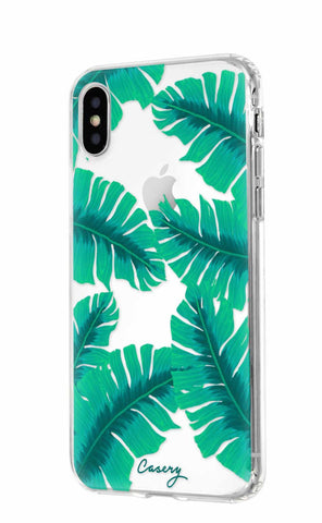 Banana Leaves iPhone XS MAX Designer Case Side View