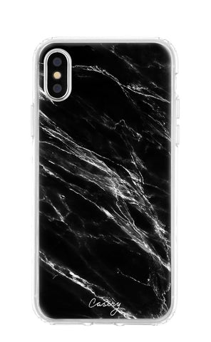 Black Marble iPhone XS MAX Designer Case