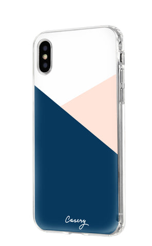 Color Block iPhone X/Xs Designer Case Side View