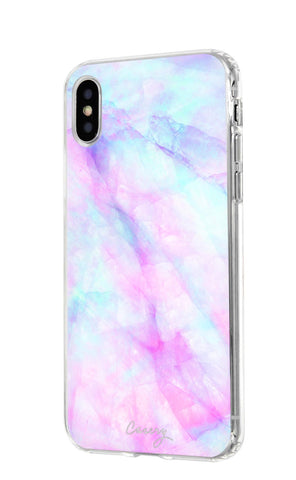 Iridescent Crystal iPhone X/Xs Designer Case Side View