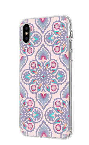Jewel Floral iPhone X/Xs Designer Case Side View