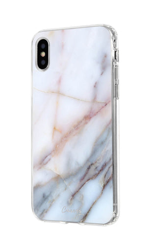 Neutral Marble iPhone XS MAX Designer Case Side View