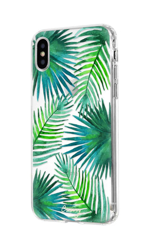 Palm Leaves iPhone XS MAX Designer Case Side View