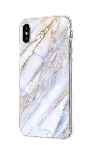 Shatter Marble iPhone XS MAX Designer Case Side View