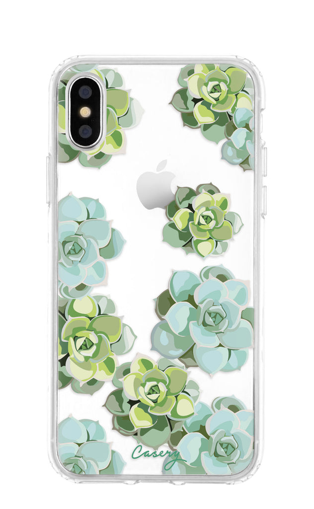 Succulents iPhone X/Xs Case