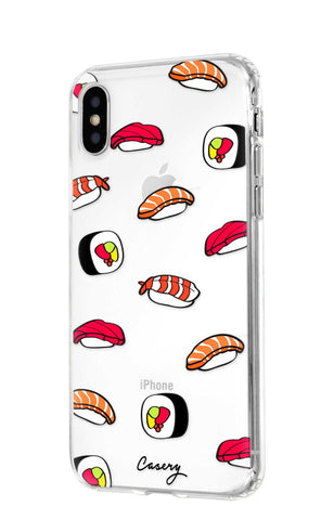 Sushi iPhone XS MAX Designer Case Side View