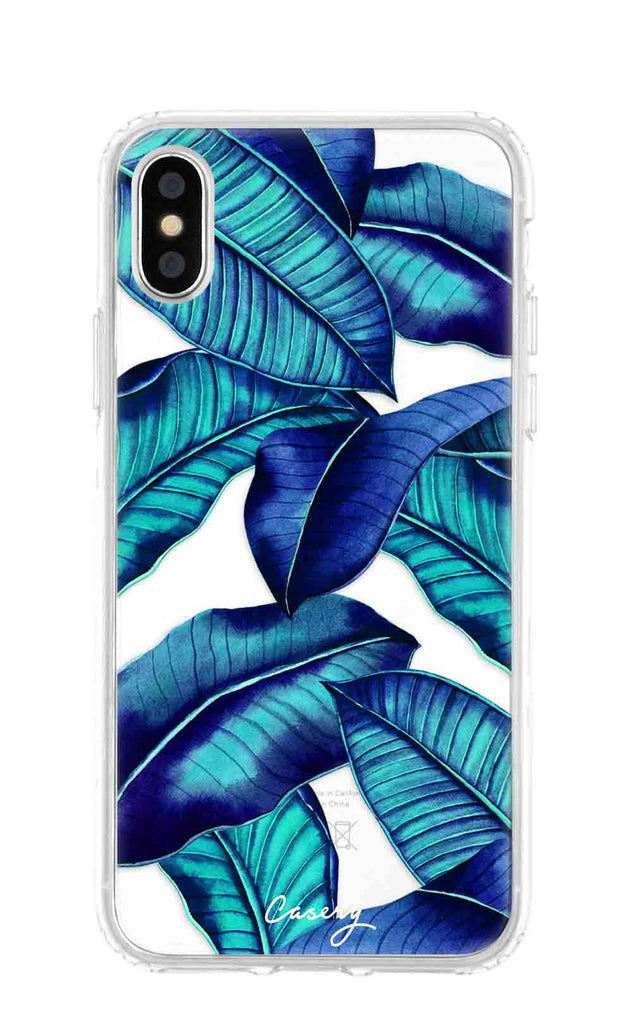 Tropical Leaves iPhone XS MAX Case