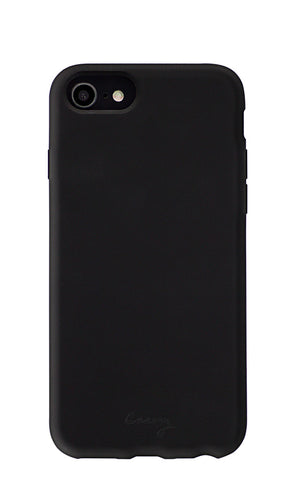 Black Silicone iPhone 8/7/6/6s Designer Case