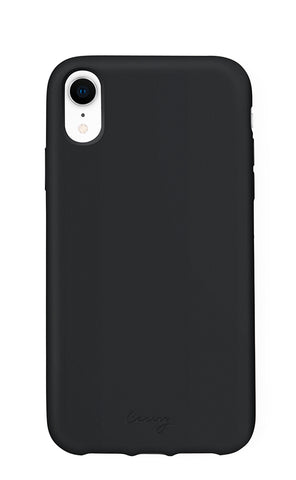 Black Silicone iPhone XR Designer Case