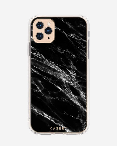 Black Marble iPhone 11 Pro Max Designer Case