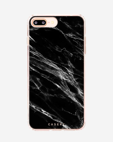 Black Marble iPhone 8/7/6/6s Plus Designer Case