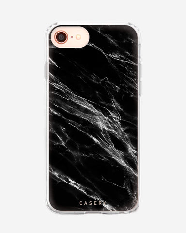 Black Marble iPhone 8/7/6/6s Designer Case