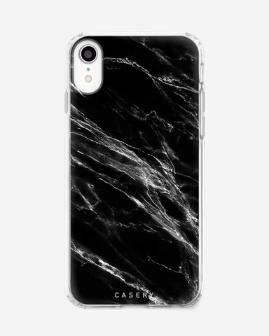 Black Marble iPhone XR Designer Case