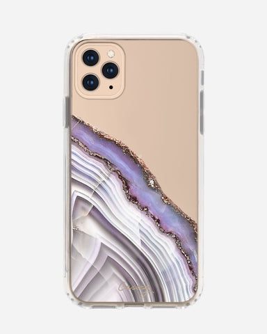 Light Purple Agate iPhone 11 Pro Max Designer Case
