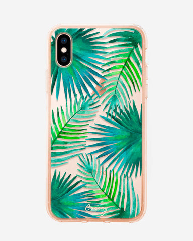 Palm Leaves iPhone X/Xs Designer Case