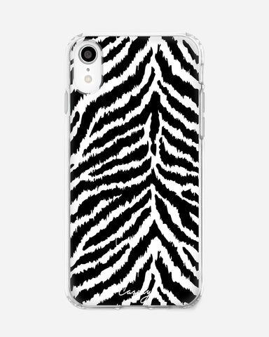 Zebra Zeal iPhone XR Designer Case