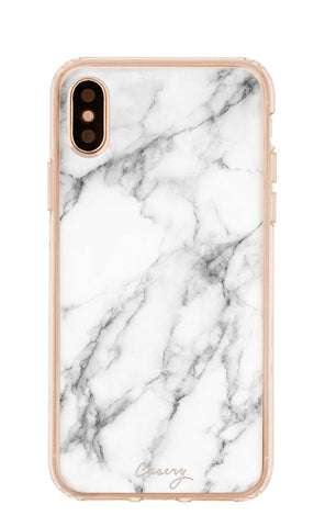 White Marble iPhone X/Xs Designer Case