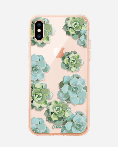 Succulents iPhone X/Xs Designer Case