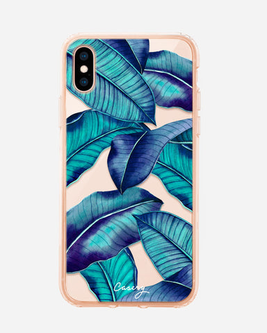 Tropical Leaves iPhone X/Xs Designer Case
