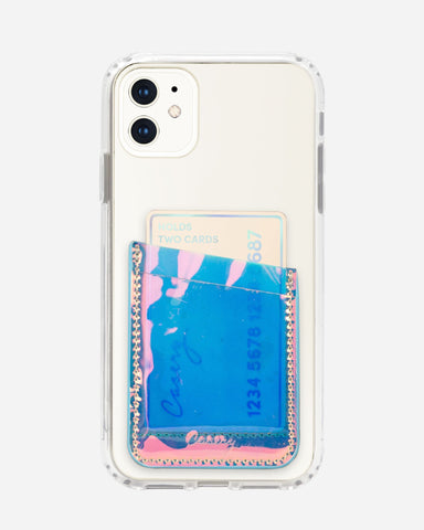 Phone Pocket Holographic Designer Case