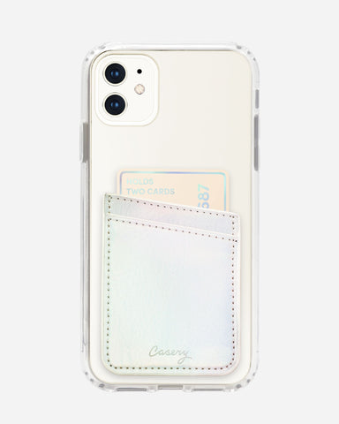 Phone Pocket Iridescent Designer Case