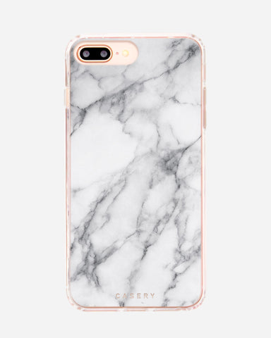 White Marble iPhone 8/7/6/6s Plus Designer Case