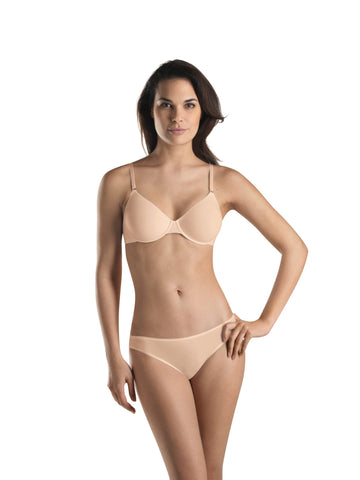 Beige Cotton Sensation Moulded Bra