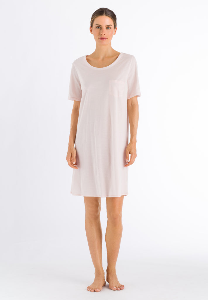 Cotton Deluxe Short Sleeve Nightdress 90cm