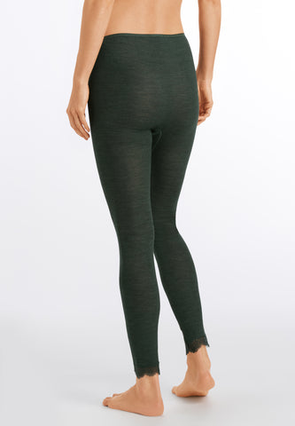 Woolen Silk Lace Leggings