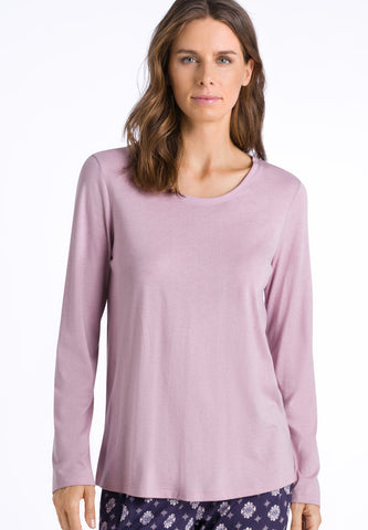 Pale Rose Sleep & Lounge Long Sleeve Top
