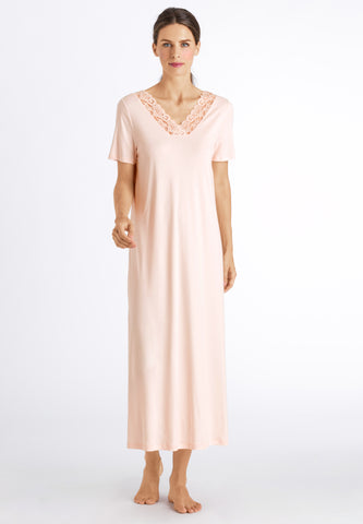 Crystal Pink Moments Nw S/Slv Nightdress 130Cm