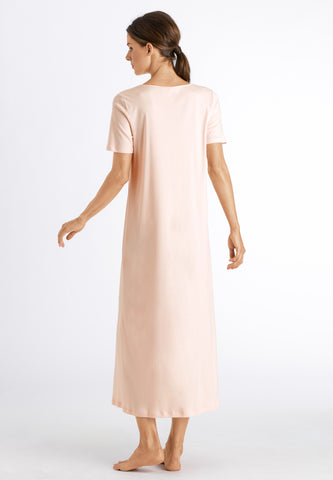 Crystal Pink Moments Nw S/Slv Nightdress
