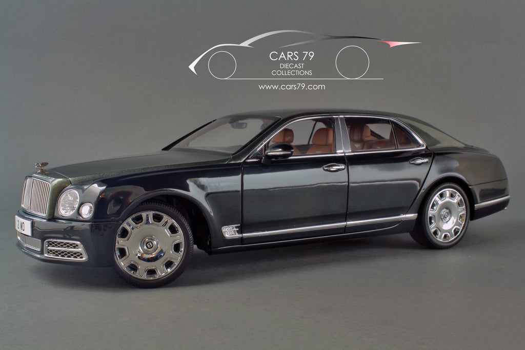 Review 1/18 Bentley Mulsanne 2017 -  by Almost Real (830501)