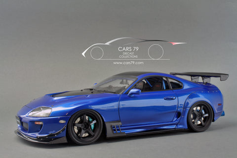 1/18 Supra (JZA80) RZ (Blue) by Ignition Model (IG1354)