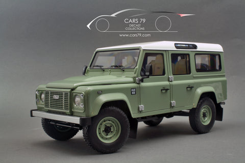 1/18 Land Rover Defender 110 Heritage Edition 20015 - Green by Almost Real