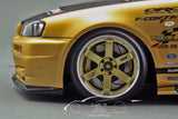 1/18 TOP SECRET GT-R (BNR34) Gold - by Ignition Model (IG1476)
