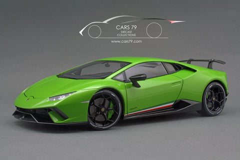 1/18 Lamborghini Huracan Performante (Pearl Green) by AutoART (79154)