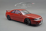 1/18 Nissan Skyline GT-R (BCNR33) Matsuda Street Wine Red by Ignition Model (IG1841)