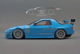 1/18 Mazda RX-7 (FC3S) RE Amemiya Light Blue by Ignition Model (IG1519)