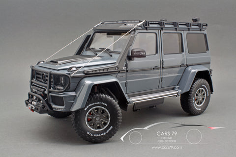 1/18 Brabus 550 Adventure Mercedes-Benz G 500 4×4² Gray by Almost Real (860304)