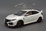 1/18 Honda Civic Type R (FK8) Championship White by AutoArt 73266