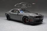 1/18 Dodge Challenger SRT Hellcat (Destroyer Grey with Gunmetal stripes) by AutoART