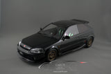 1/18 Honda Civic Type-R Mugen EK9 (Black)